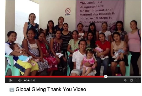 "Gathering to say ""Thanks, Global Giving!"""