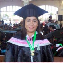 Nerissa at Graduation - BSM in Midwifery