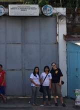 Vicki, Jen and Jennifer at Women's Prison-Olongapo