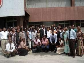Misoprostol training attendees-Lagos, Nigeria