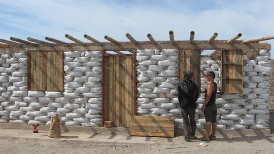 Example of Earthbag Building