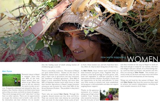About women in Nepal