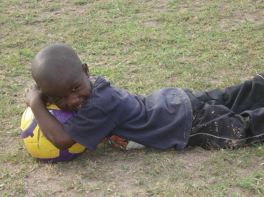 Bring Food and Education to Kenya Through Soccer
