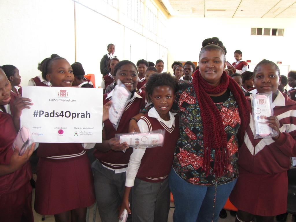 Pads4Oprah Campaign