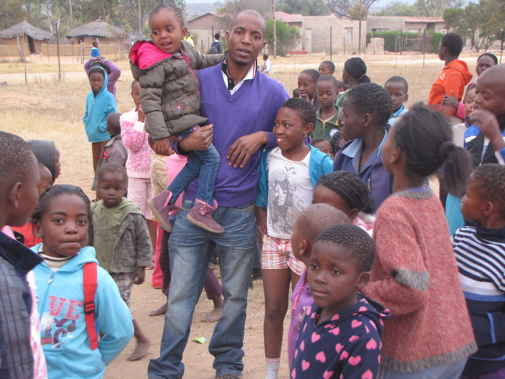 The Children we serve in Bergnek