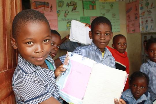 Children at Moon City Community School