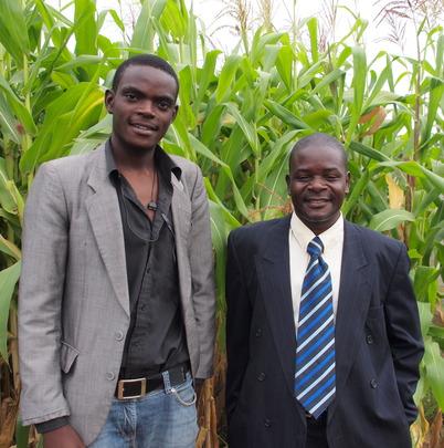 Christopher Banda and Mwenya Mvula