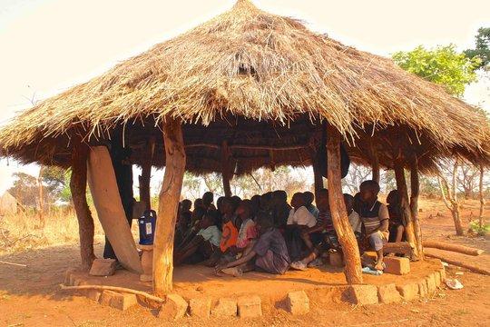 Outdoor radio classroom