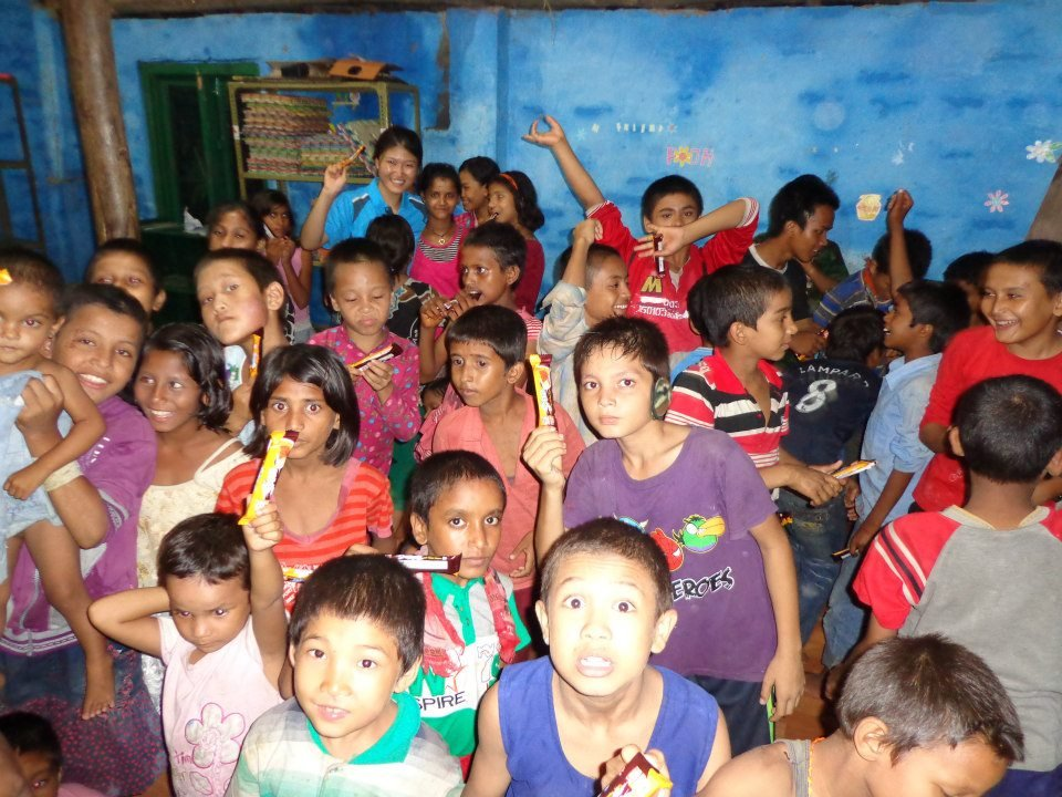 Children at The Happy Home Orphanage