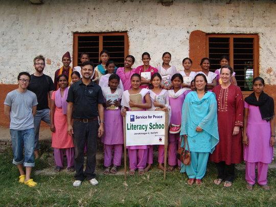 Women's literacy school