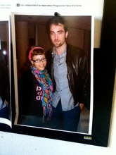Reves patient with Twilight's Robert Pattinson!