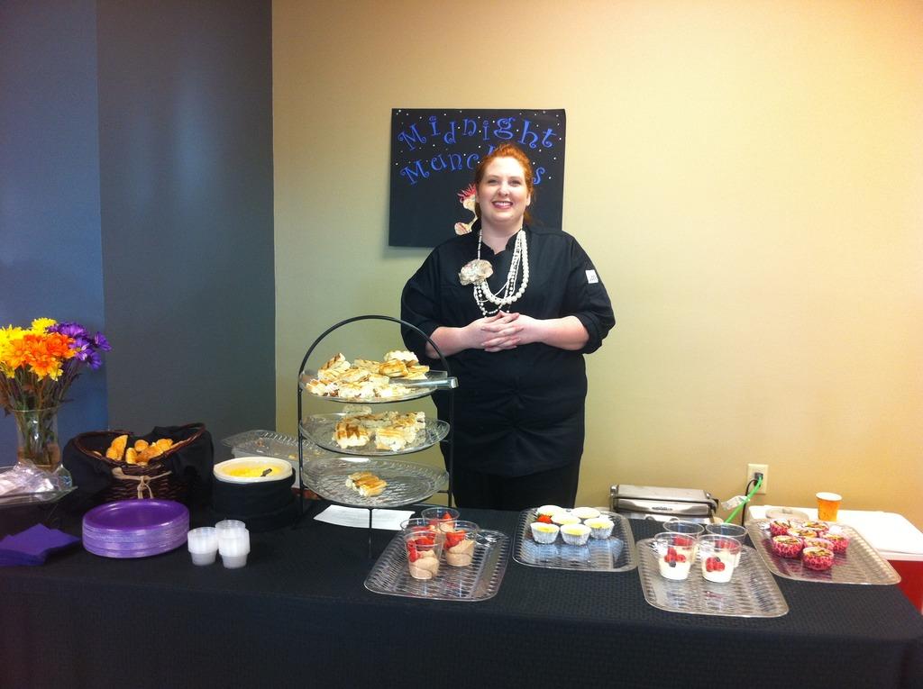 Chef Kim Brown, OJS business plan winner