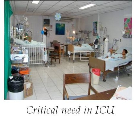Intensive Care Unit at La Mascota, Managua