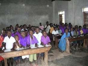 Lots of children in Uganda.