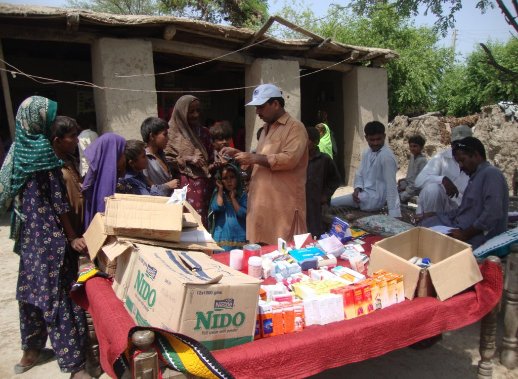 Medical Camp for women at Jati area