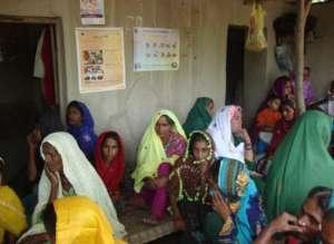 Mobile camp near jati area for women