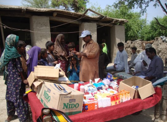 Medicine free distribution in women