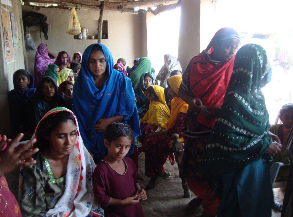 Women sharing health issues