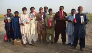 Solar Lantern distributed in 40 families