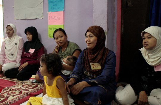 Mercy Corps' Mother Support Group Participants