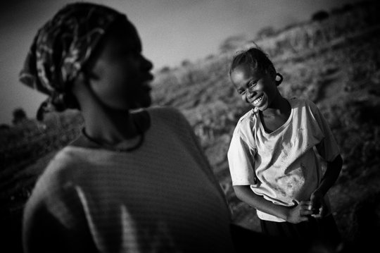 A young woman in South Sudan