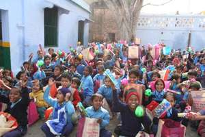 Gift Distribution in Villages