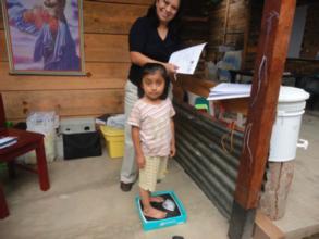 Wakami Village Technology monitors children weight