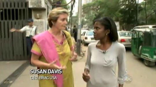 Susan Davis and Deborah Roberts