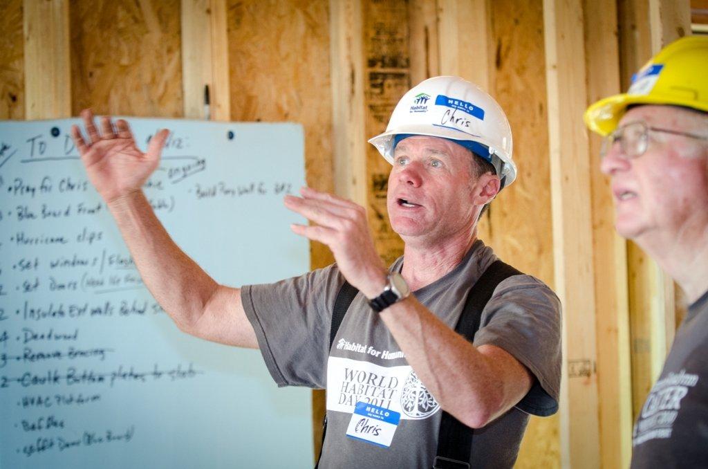 Volunteers help Habitat fulfill housing ministry