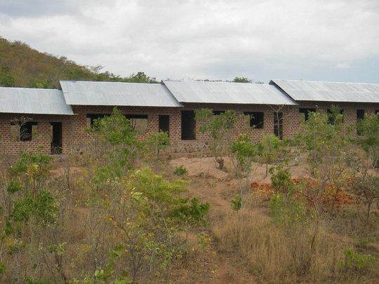 Amahoro Secondary School Roofs