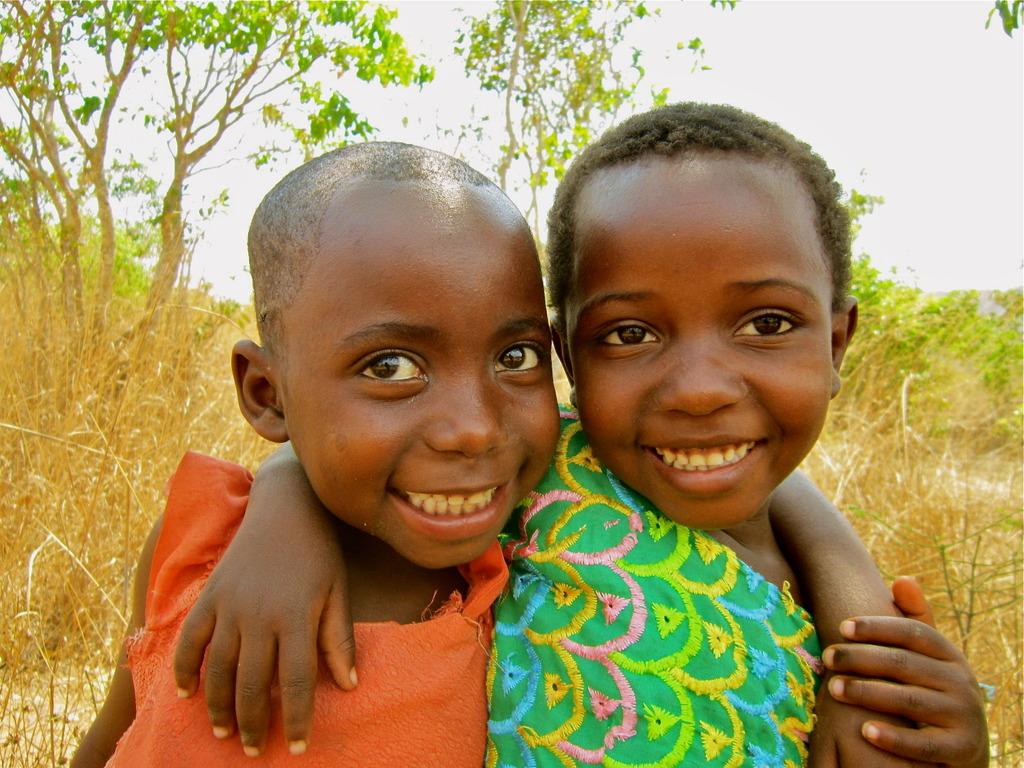 Salima and Uzia - neighbors of Amahoro School