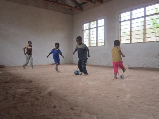 Classroom Soccer Match