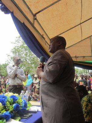 District Commissioner, Mr Maneno