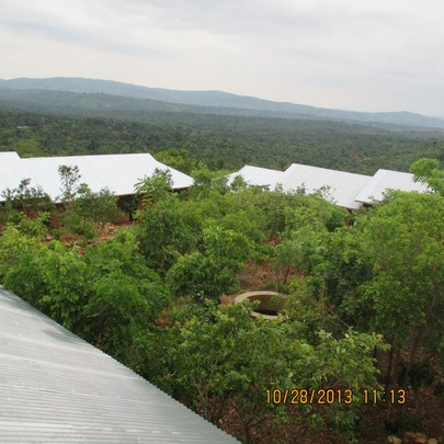 Amahoro Secondary School - Roofs and Trees!