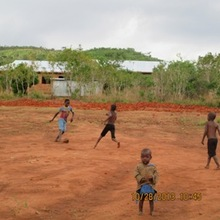 The Future Soccer Pitch - Built by the Kids!
