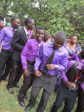 Graduation Dance - Saidi Smiling in the Middle