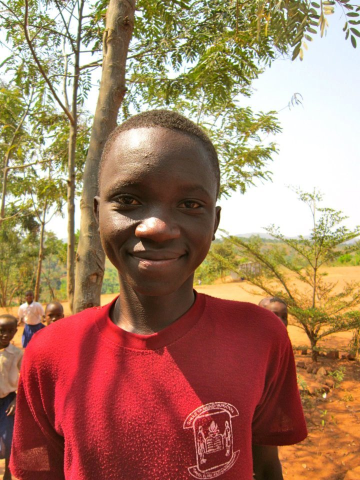 George - Form 4 Student at Bitale Secondary School