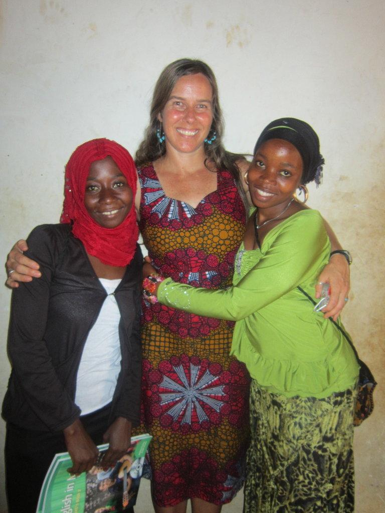 Hindu, Rai, and Khadija - January 2015