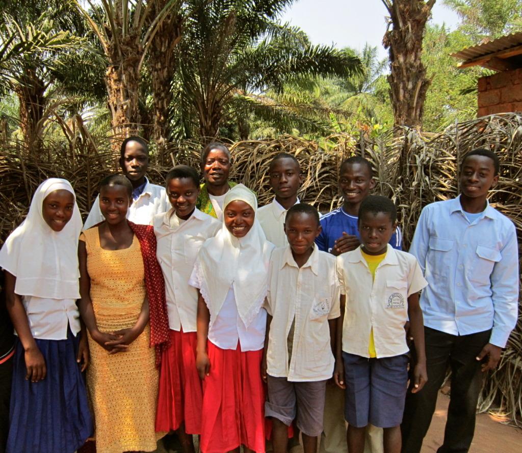 New Mgarganza Students