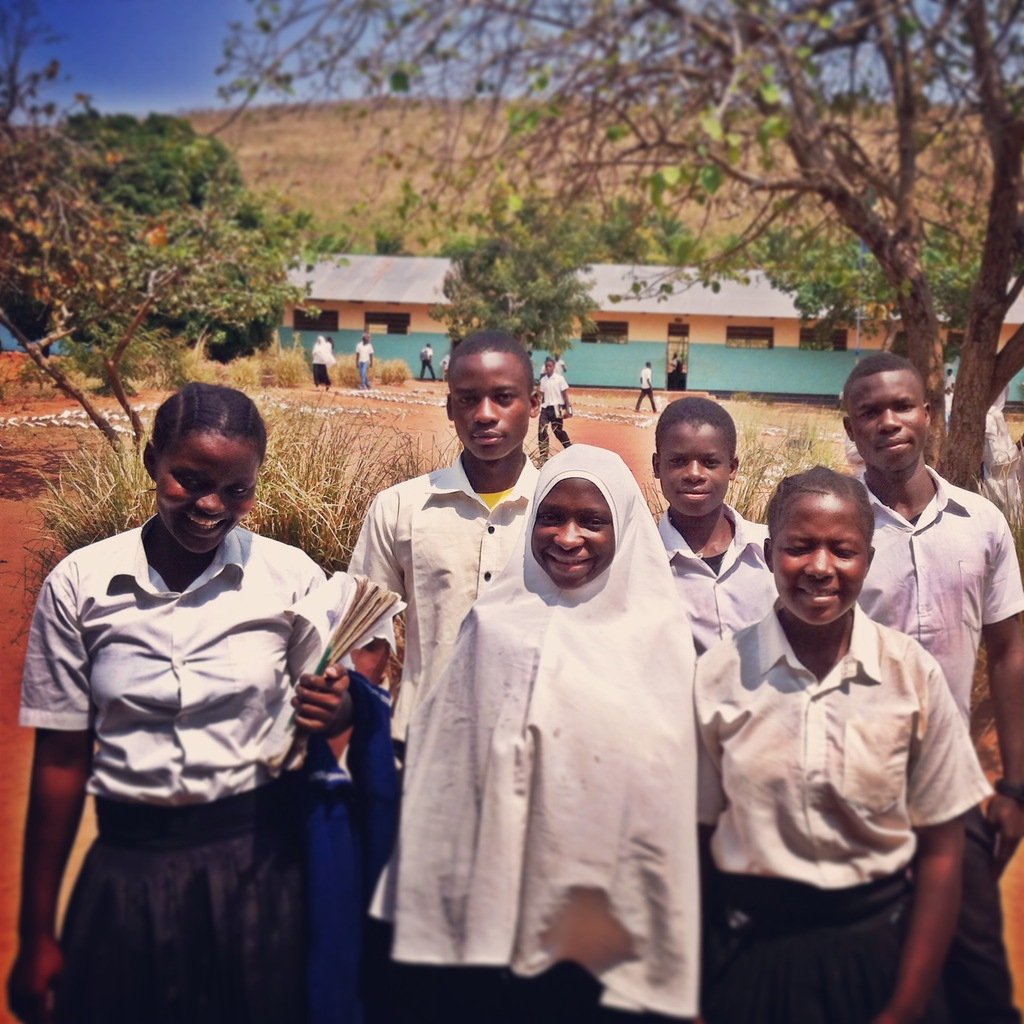 Students at Kagongo Secondary School