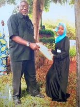 Khadija - Congrats from Baba (former chief)