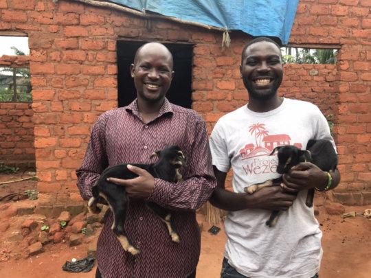 Lucas and Madaga - Educators, Role Models, Mentors
