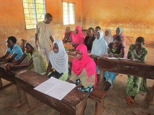 Saidi monitoring student work