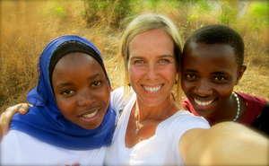 Khadija, Rai and Edina
