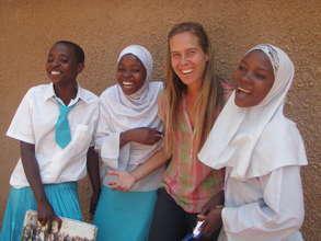 Edina, Khadija, Rai and Zainabu