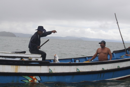 Fishing the Congo