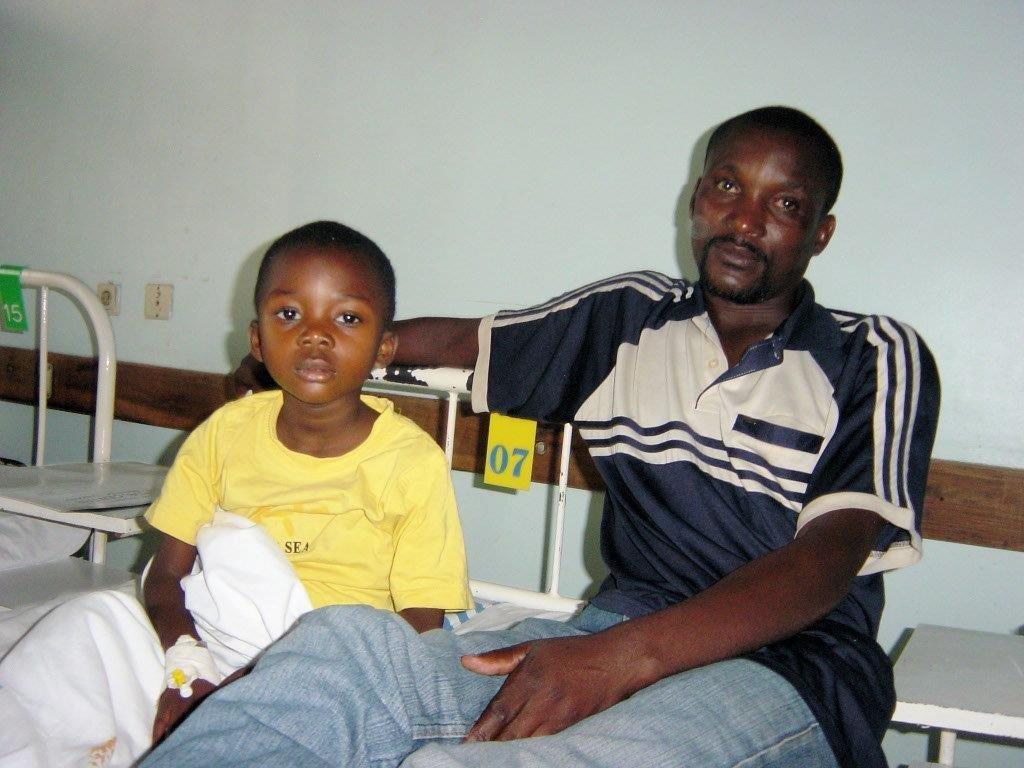 Little Boy Receiving Treatment for BL