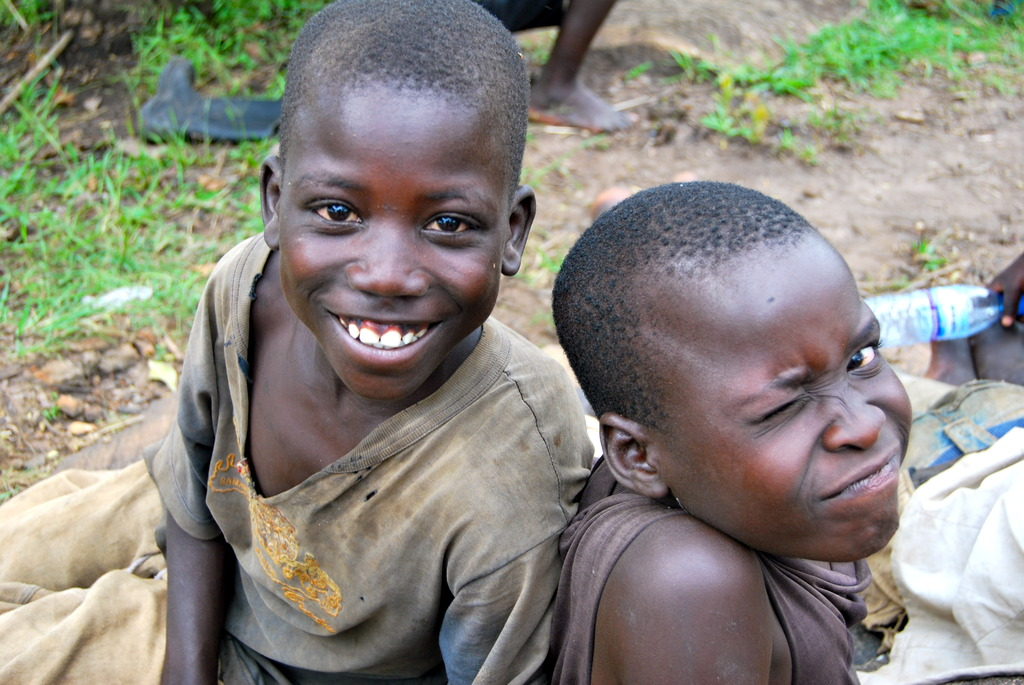 Two Happy Boys After Treatment