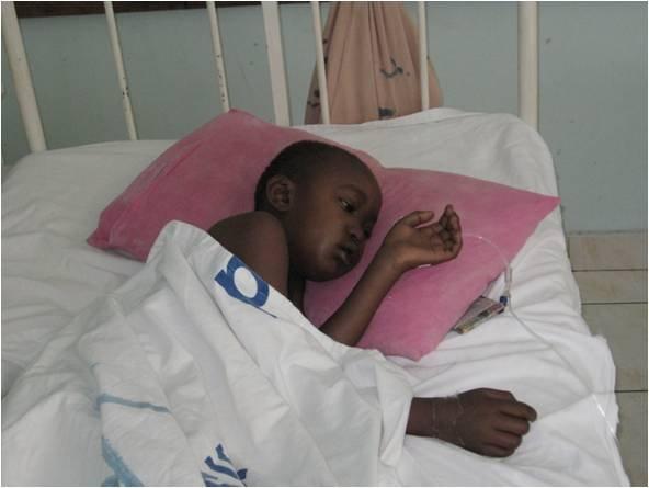 Emelda, 8 years, before treatment