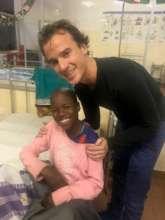 Emmanuel with Ronald, an INCTR Volunteer